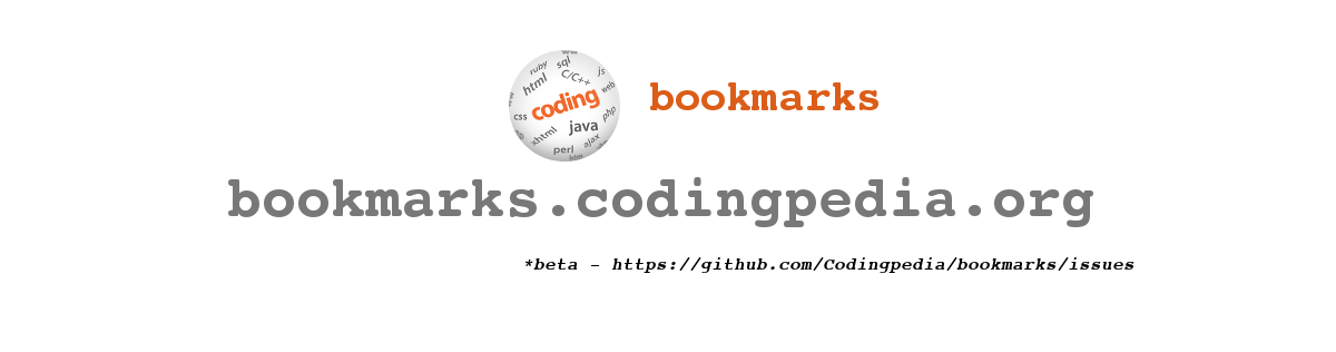 Sharing coding bookmarks
